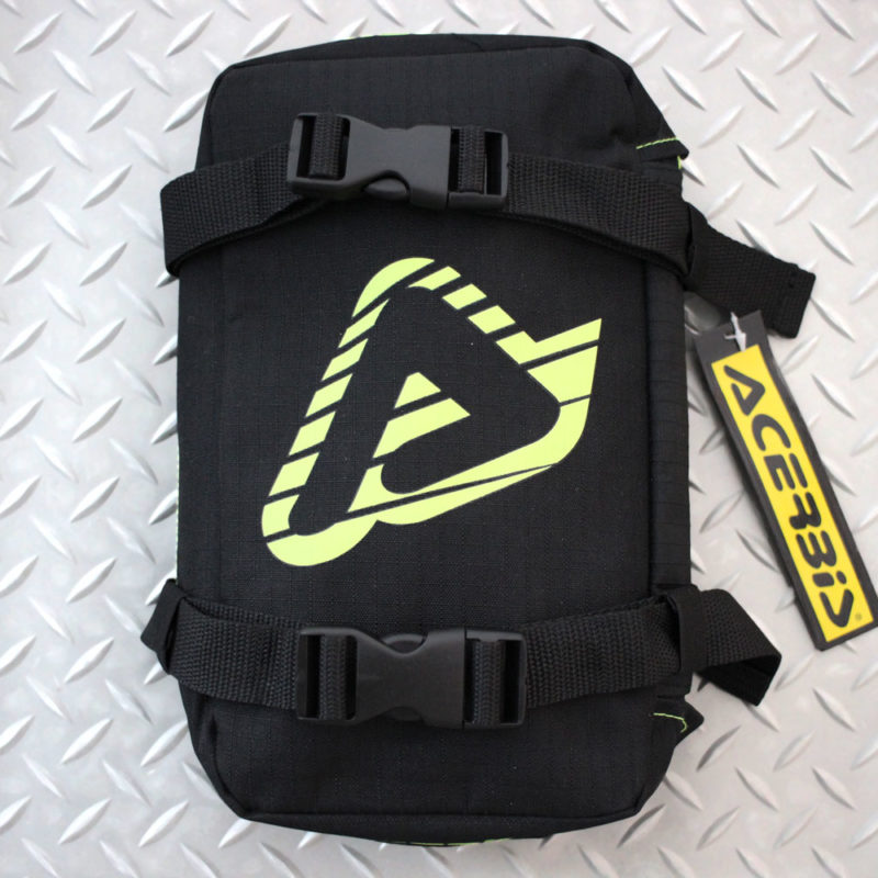 Acerbis Front Fender Tool Pack Black/Flo Yellow