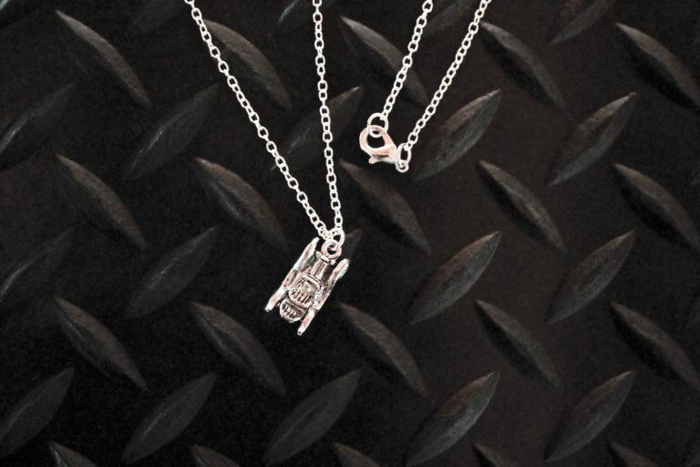 Antique Car Necklace
