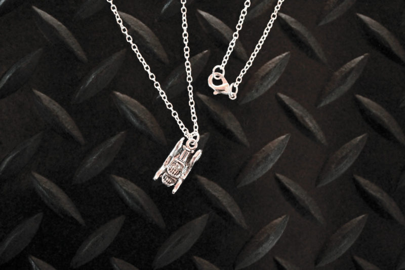Antique Car Necklace