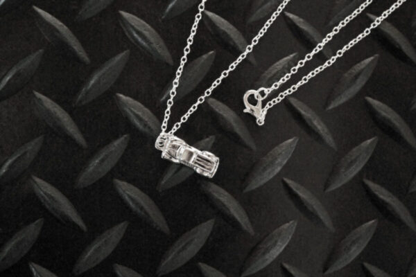 Antique Truck Necklace