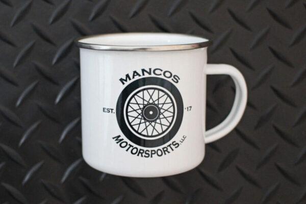 Mancos Motorsports Logo Camper Mug