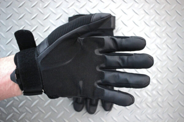 Hard Knuckle Motorcycle Gloves Bottom