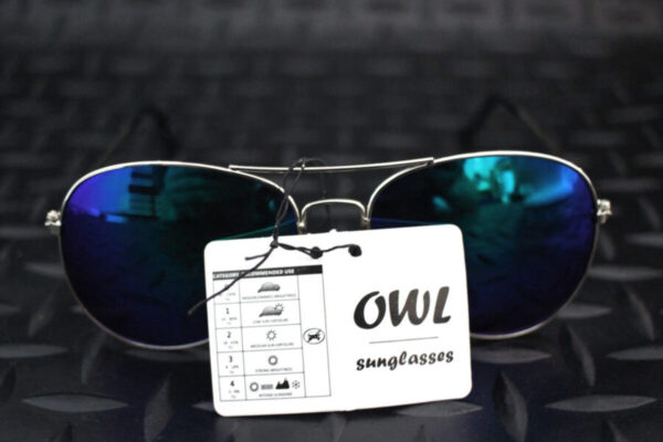 Owl Aviator Sunglasses