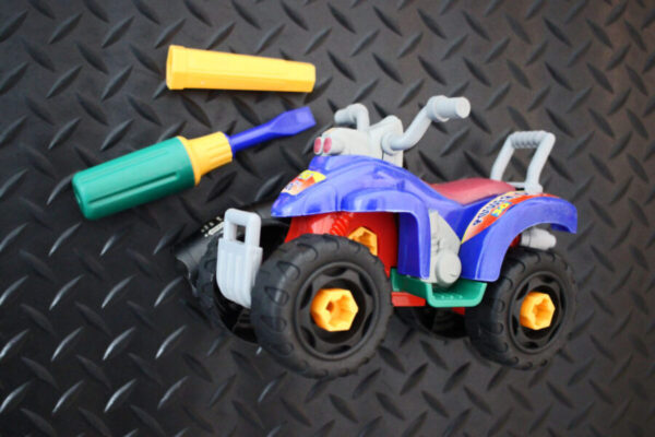 Take Apart ATV Toy with Screwdriver