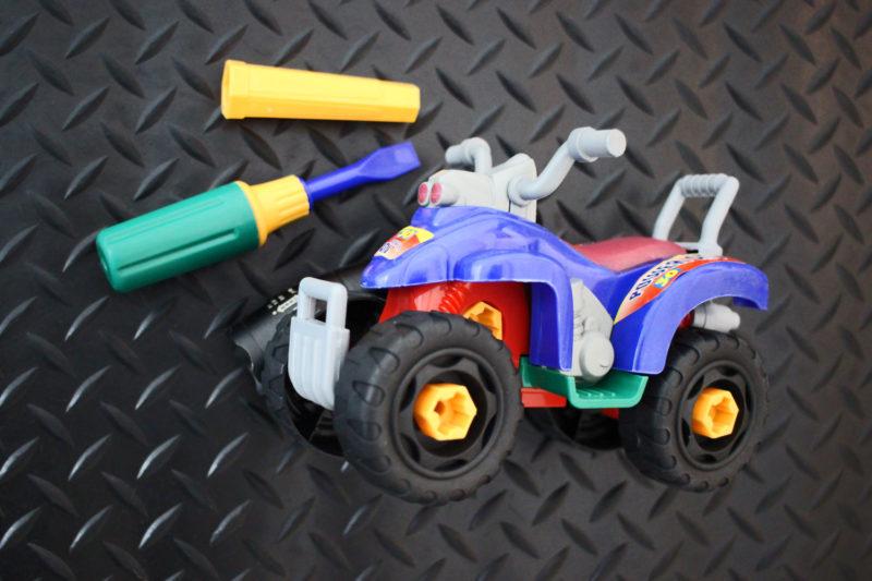 Take Apart ATV Toy with Screwdriver