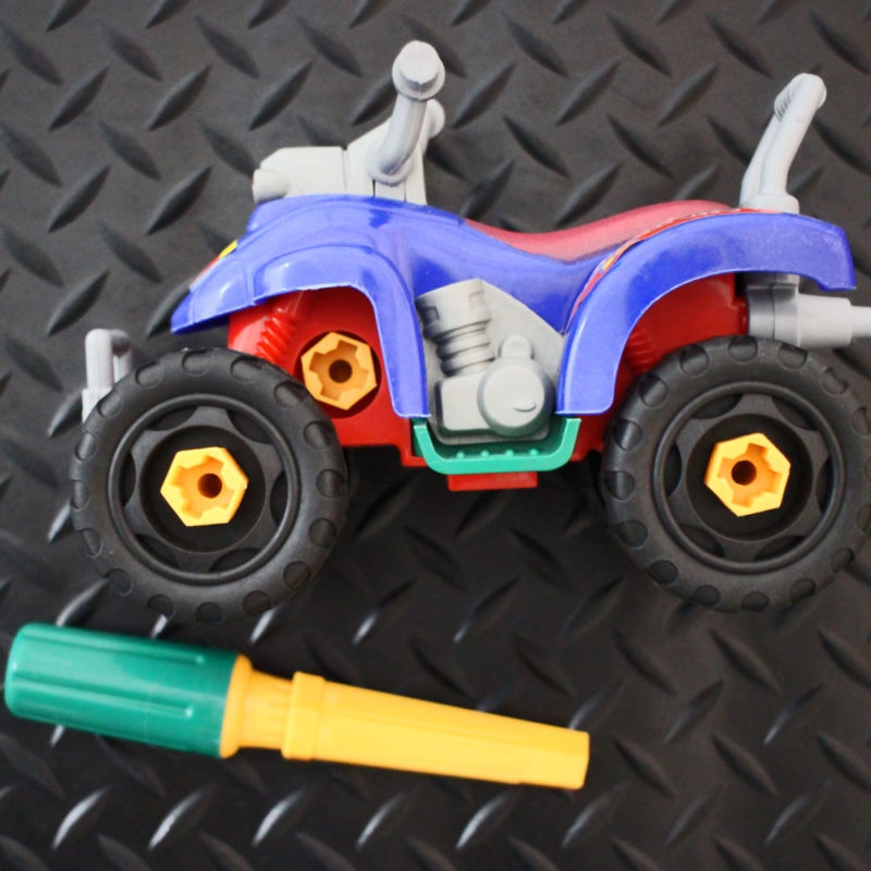 Take Apart ATV Toy