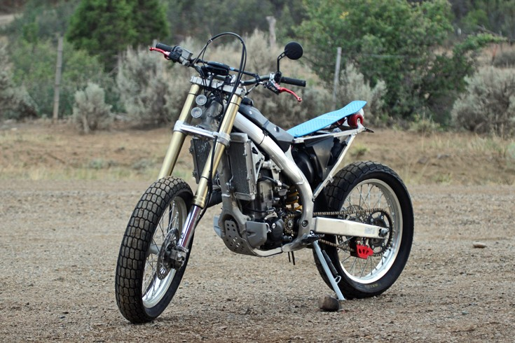 Before a dirt bike overhaul by Mancos Motorsports, LLC Dolores, CO